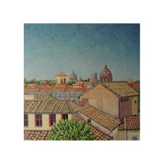 Capitolineの丘2008年 ウッドウォールアート
