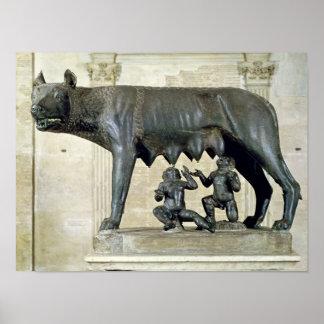 Capitolineの彼女オオカミ ポスター