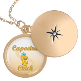 Capoeiraのひよこ ゴールドプレートネックレス