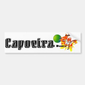 capoeiraのギフトmmaの武道のブラジルのabadaの斧 バンパーステッカー