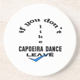 Capoeiraのダンスの許可を好まなければ コースター