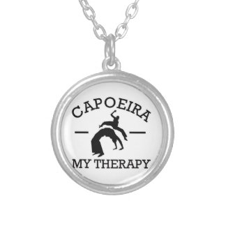 capoeiraのデザイン シルバープレートネックレス
