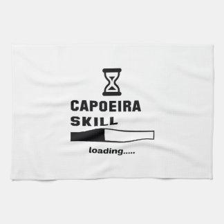 Capoeiraの技術のローディング...... キッチンタオル