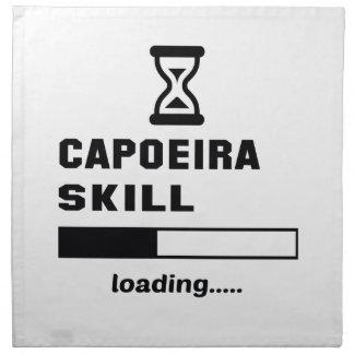 Capoeiraの技術のローディング...... ナプキンクロス