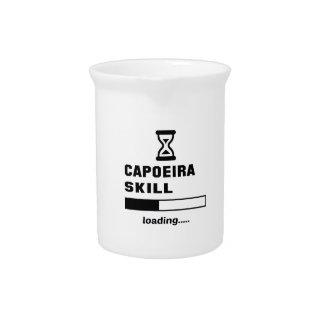 Capoeiraの技術のローディング...... ピッチャー