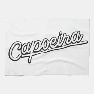 Capoeiraの白 キッチンタオル