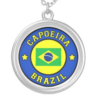 Capoeira シルバープレートネックレス