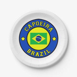 Capoeira ペーパープレート