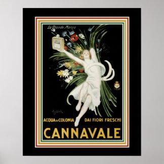 Cappiello Cannavale-のアールデコのプリント16 x 20 ポスター