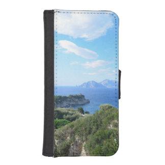 Capriの島 iPhoneSE/5/5sウォレットケース