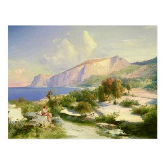 、Capriグランデ、マリーナc.1829 ポストカード