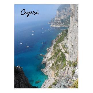 Capri、イタリア ポストカード