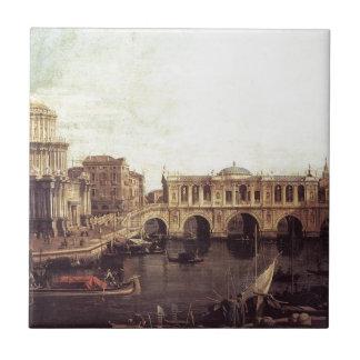 Capriccio: 想像の大運河、 タイル
