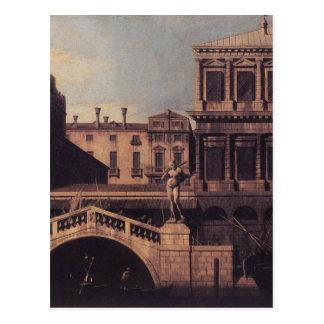 Capriccio: Ponteのdella Pescariaおよび建物 ポストカード
