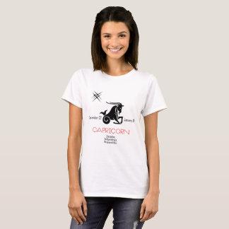 Capricorn Zodiac symbol Tシャツ