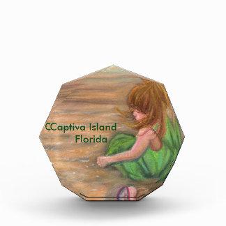 Captivaの島のフロリダの芸術 表彰盾