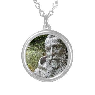 Capucinの修道士 シルバープレートネックレス