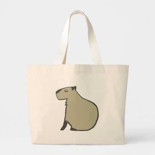 capybara ラージトートバッグ