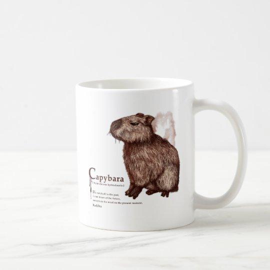 capybara - chocolate コーヒーマグカップ