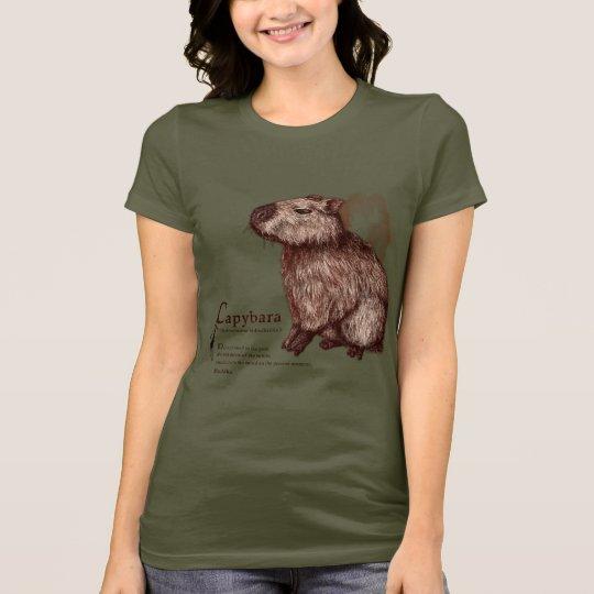 capybara - chocolate tシャツ