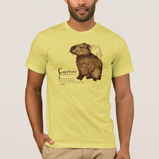 capybara - chocolate tシャツ