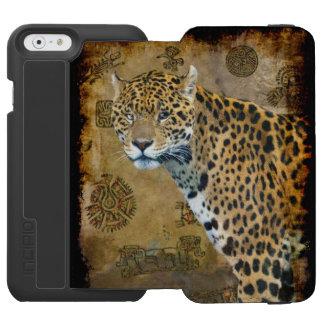 Caracalの寺院の南アフリカのジャガー Incipio Watson™ iPhone 6 ウォレットケース