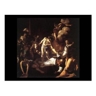 Caravaggioセントマシュー島の殉教 ポストカード