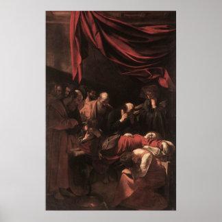Caravaggioヴァージンの死 ポスター