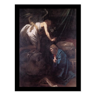 Caravaggio告知 ポストカード