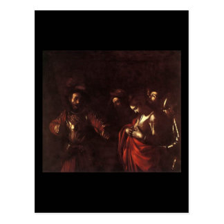 Caravaggio聖ウルスラの殉教 ポストカード