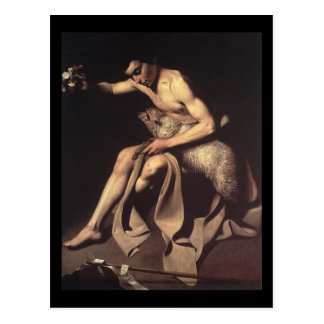 Caravaggio聖ヨハネバプテスト ポストカード