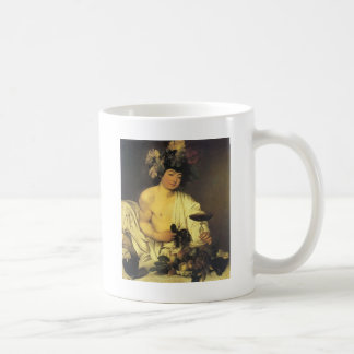Caravaggio若いバッカス コーヒーマグカップ