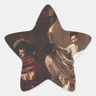 Caravaggio著慈悲の7つの仕事 星シール