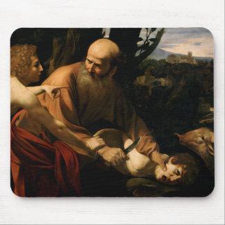 Caravaggio -アイザックの犠牲 マウスパッド