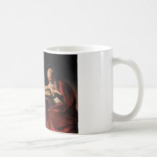 Caravaggio -聖者のジェロームの執筆 コーヒーマグカップ