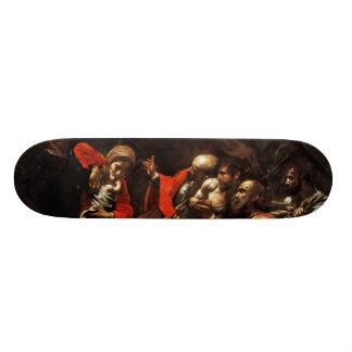 Caravaggio (1609年)著羊飼いの崇敬 カスタムスケートボード