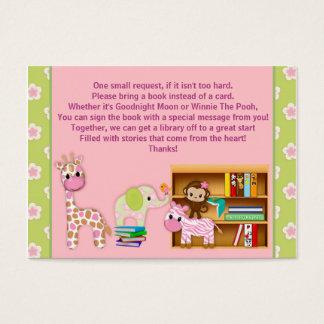 Card#2 100の代りのジャングルのジルの本の要求 名刺