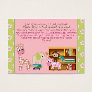 Card#3 100の代りのジャングルのジルの本の要求 名刺