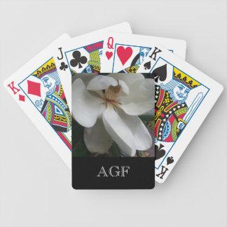 CARD_SOUTHERN MAGNOLIA/MONOGRAMを遊ぶ上品 バイスクルトランプ