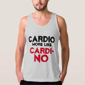 Cardiトレーニングのティー タンクトップ