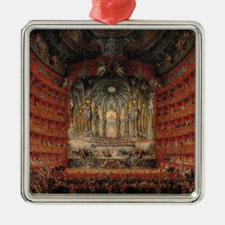 Cardinalがde La Rochefoucauld与えるコンサート メタルオーナメント