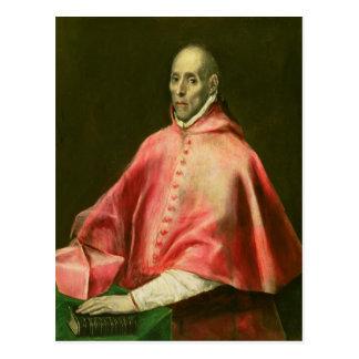 Cardinalのファンde Taveraポートレート ポストカード