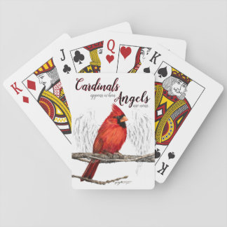 Cardinals Appear Angels Are Near Playing Cards トランプ