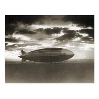 Cardingtonの飛行船R101 ポストカード