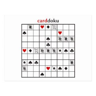 cardokuのスペードの王室のなフラッシュ ポストカード
