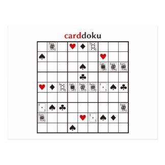 cardokuのダイヤモンドの王室のなフラッシュ ポストカード