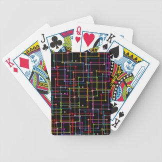CARDS_多彩GEOMERTICを遊ぶ上品 バイスクルトランプ