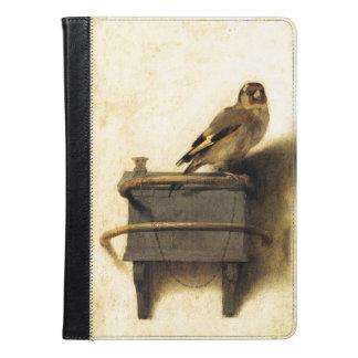 Carel FabritiusのファインアートによるGoldfinch iPad Airケース