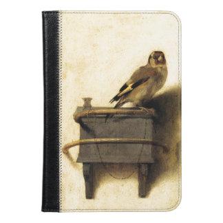 Carel FabritiusのファインアートによるGoldfinch iPad Miniケース