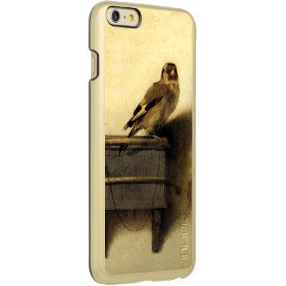 Carel FabritiusのヴィンテージによるGoldfinch Incipio Feather Shine iPhone 6 Plusケース